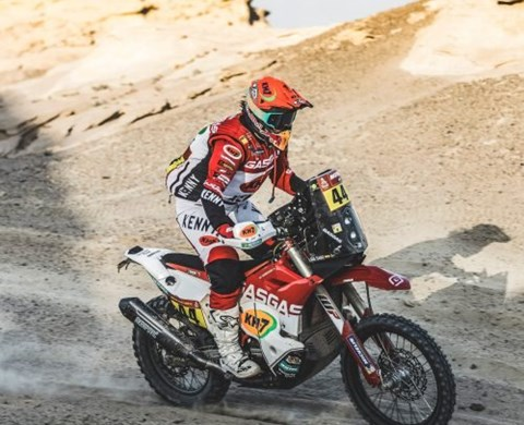ANOTHER POSITIVE STAGE RESULT FOR LAIA SANZ AT 2021 DAKAR RALLY