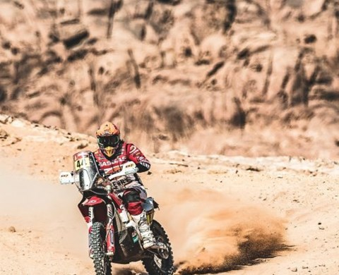 LAIA COMPLETES SECOND LEG OF DAKAR RALLY MARATHON STAGE