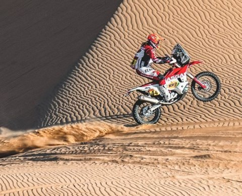 LAIA COMPLETES STAGE FOUR OF THE 2021 DAKAR RALLY