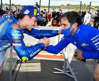 MotoGP: Nach acht Jahren der Zusammenarbeit als Team Manager des Suzuki ECSTAR Teams geben Davide Brivio und Suzuki das Ende ihrer... Weiter >>