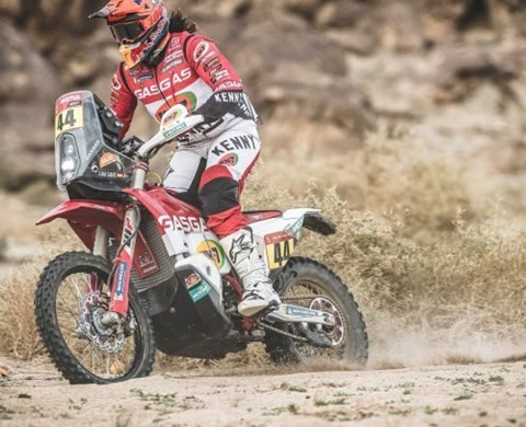 LAIA SANZ CLAIMS HER BEST STAGE RESULT OF 2021 DAKAR RALLY