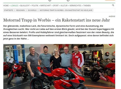 NEWS Ducati Superleggera V4