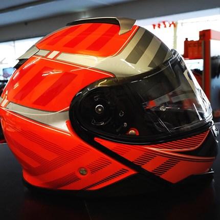 Shoei Neotec II neu eingetroffen !!  Shoei Neotec II neu eingetroffen !! Der Helm ist in verschiedenen Größen bei uns erhältlich !! Click & collect !!