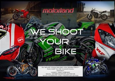 we shoot your bike