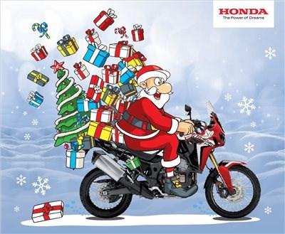 Frohe Weihnachten Motorrad.Honda Semmler Frohe Weihnachten