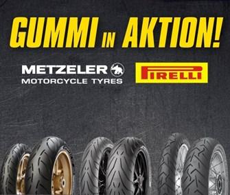 NEWS Pirelli und Metzeler Reifen - jetzt bei Lietz in Aktion!