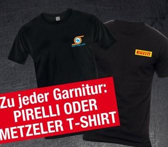 Pirelli und Metzeler Reifen jetzt in Aktion!