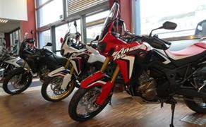 Detailansicht Africa Twin Lagernd @ Stahl Bikers Only