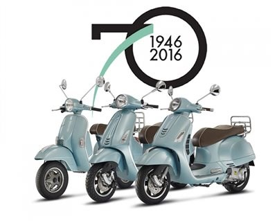 vespa Happy Days - Happy Birthday Vespa!