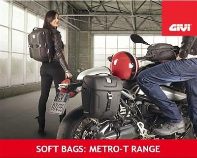 Nuevas bolsas SOFT BAGS de GIVI METRO-T RANGE