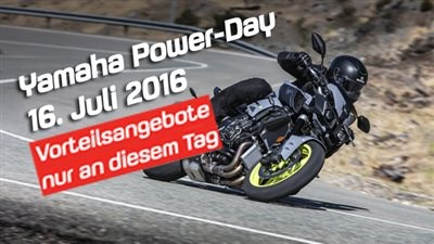 YAMAHA Power-Day 16.7.2016
