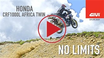 Honda AFRICA TWIN. NO LIMITS with GIVI