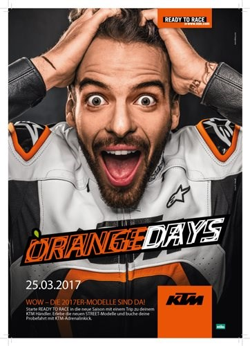 Orange Day am 25.3.2017
