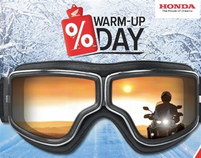 WARM-UP DAY am 18. Februar 2017 beim  Honda Team Schlieter