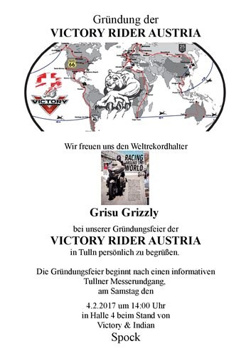 Gründung Victory Riders Group