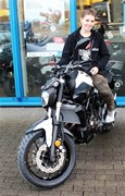 Detailansicht YAMAHA MT-07 2017 Powder White