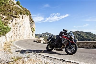 Aktion TRIUMPH Tiger: Koffer packen und losstarten
