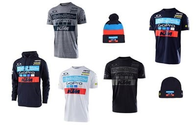 KTM TROY LEE DESIGNS TEAM WEAR 2017 Die neue KTM TROY LEE DESIGNS TEAM WEAR 2017 ab jetzt bei uns im Online-Shop und im Geschäft erhältlich