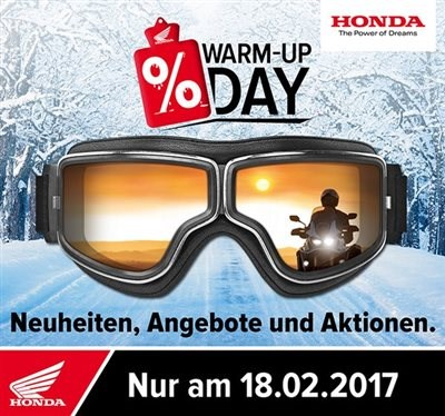 Honda Warm-Up Day am 18.02.2017