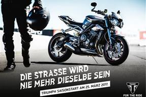 Triumph Saisonstart 2017 anzeigen