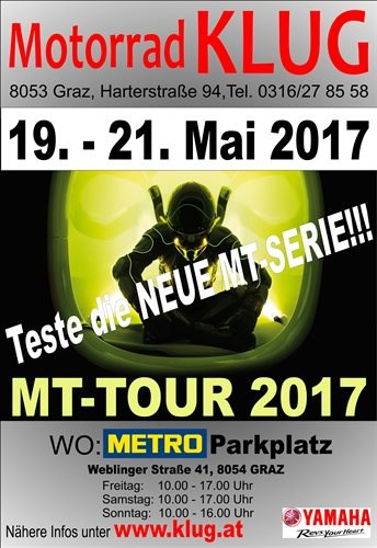 MT-Tour 2017 powered by Motorrad Klug