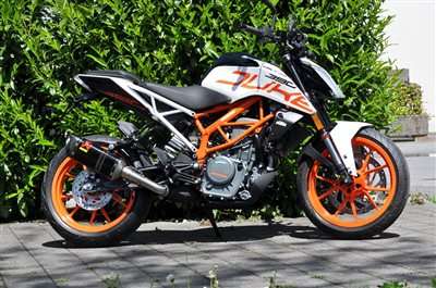 ktm 390 duke 2017 mit kurzem heck. Black Bedroom Furniture Sets. Home Design Ideas
