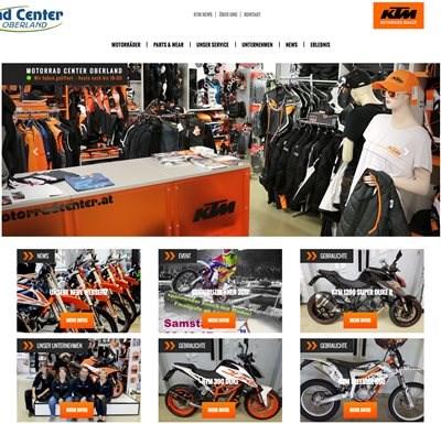 Unsere Neue Webseite Unsere neue Webseite ist ONLINE. Entdecken Sie die neuen KTM-Modelle, Gebrauchtfahrzeuge und unser Zubehör. Von attraktiven Angebo... Weiter >>