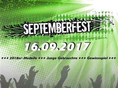 Septemberfest 16.09.2017