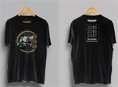 Camiseta conmemorativa campeonato del mundo de SBK
