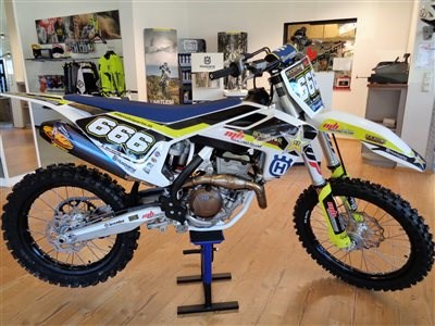MB Motoparts-News: >>>HUSQVARNA FC350 MY 2018 mbRACING ROLL OUT<<<