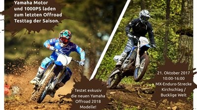 YAMAHA OFFROAD Testag in Kirchschlag