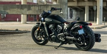 Detailansicht Indian Scout Bobber