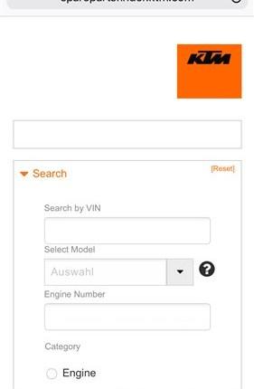 Ersatzteilbestellung NEWS !!!  Information zur Bestellung  Wir würden uns freuen, wenn unser Kunden in Zukunft den offiziellen Partsfinder für Mail/Telefon B...