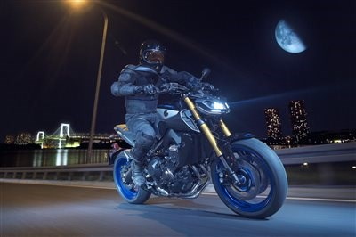 Neu: Yamaha MT-09 SP - the Darkness