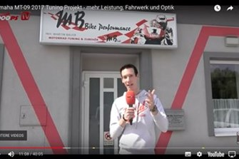 Bild zum Bericht: 1000PS.at Video zum MT-09 Umbau: 20 Minuten bei MB Bike Performance!
