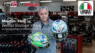 AGV Limited Edition bei Ginzinger Villach