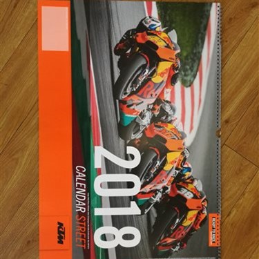 KTM & TRIUMPH Kalender 2018