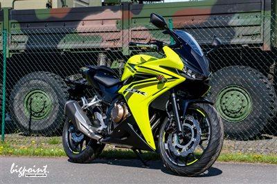 Honda CBR 500 R seltene Farbkombi