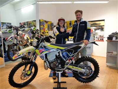 >>>HUSQVARNA TE250 MY2017 ROLL OUT<<