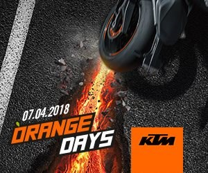 KTM Orange Day 2018  ZEIT, DEN ASPHALT ZUM SCHMELZEN ZU BRINGEN   Erlebe die brandheiße Performance der KTM-Street-Modelle 2018 und teste erstmals ... Weiter >>