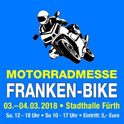 >>> FRANKEN BIKE 2018 in FÜRTH, 03./04.03.18, Wir sind am Start ! <<<