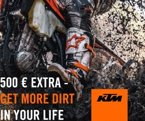 NEWS € 500 EXTRA - GET MORE DIRT IN YOUR LIFE