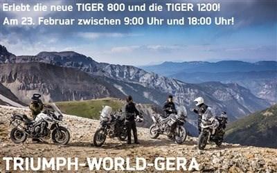 Die neue TIGER 800 und TIGER 1200 - LIVE