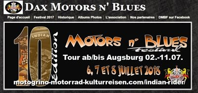 Motors & Blues-Festival in Dax