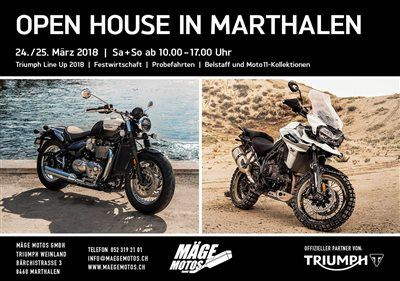 Mäge Motos GmbH-News: OPEN HOUSE 2018