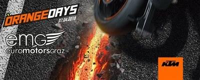 KTM Orange Day   Die Winterpause ist vorbei!  Am Samstag, 7. April findet wieder der traditionelle KTM ORANGE D... Weiter >>