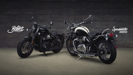 NEWS Bobber Black & Speedmaster Launch