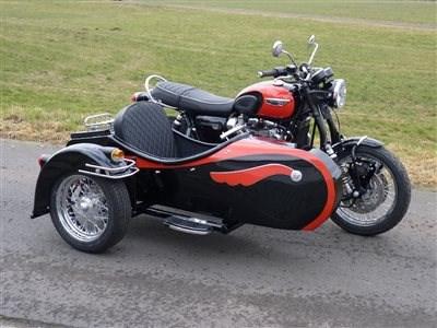Triumph Bonneville T120 Gespann