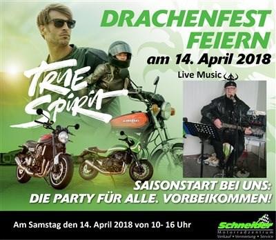 Drachenfest am Samstag 14. April 2018 von 10 – 16 Uhr.