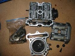 Suzuki SV 650 99-02 Zylinder inkl.Kopf (s100)